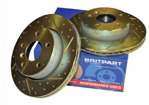 Front Performance Brake Discs - Vented - DA4602